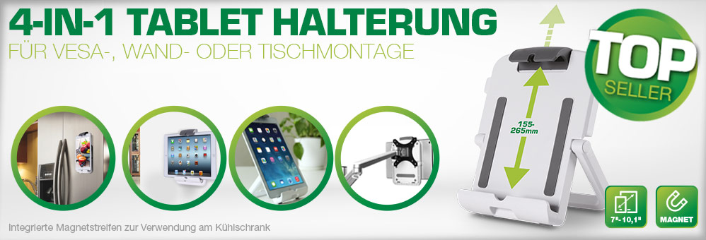 4-in-1 Tablet Halterung
