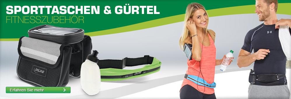 InLine Sporttaschen und Gürtel