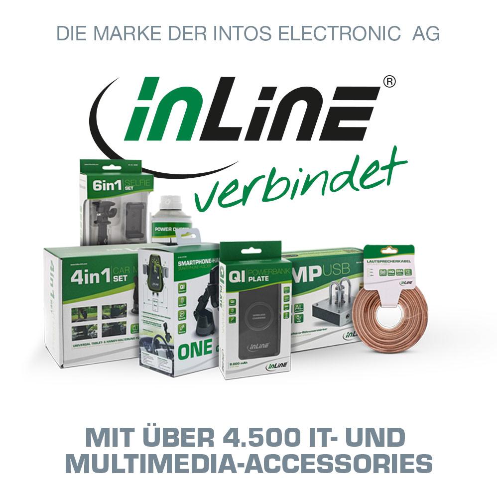InLine verbindet ... mit mehr als 4.500 IT- und Multimedia Accessories