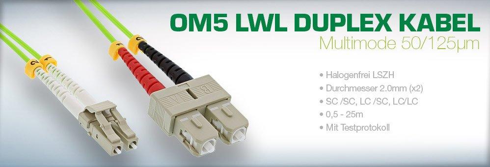 InLine® LWL Duplex Kabel