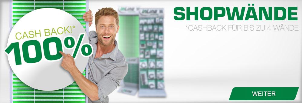 InLine Shopwände:Unsere hochwertige, individuelle Lösung für Ihr Ladengeschäft.