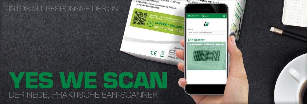 Der praktische EAN-Scanner auf intos.de