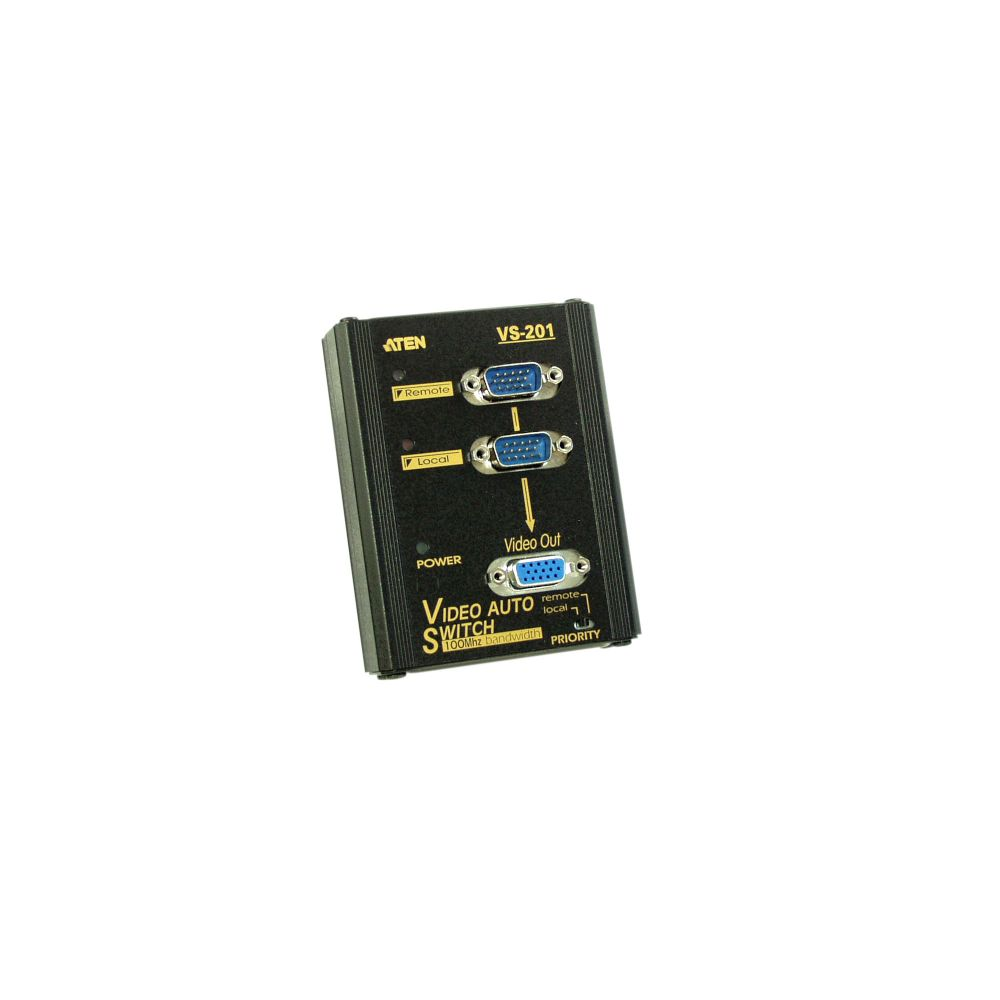 ATEN VS201 Monitor-Umschalter VGA 2-fach