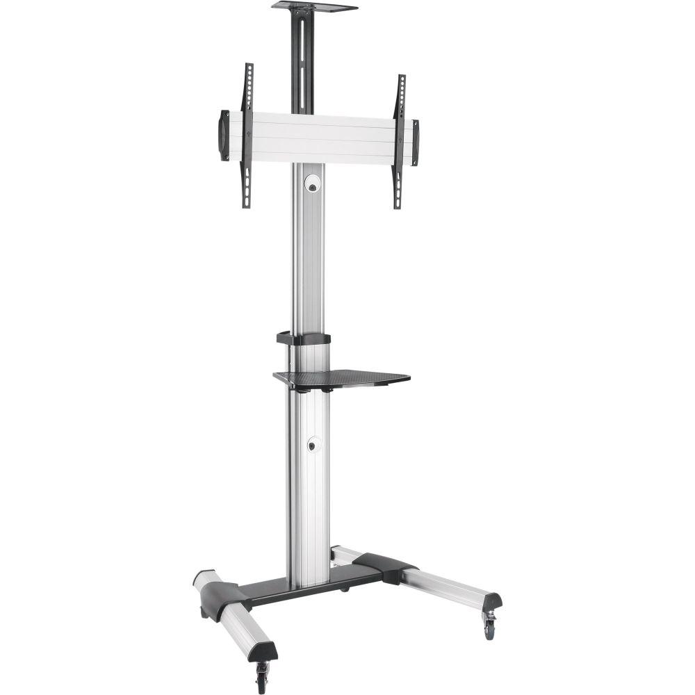InLine® TV-Wagen, Höhenverstellbar, für LED-TV 37''-70'' (94-178cm), max. 50kg