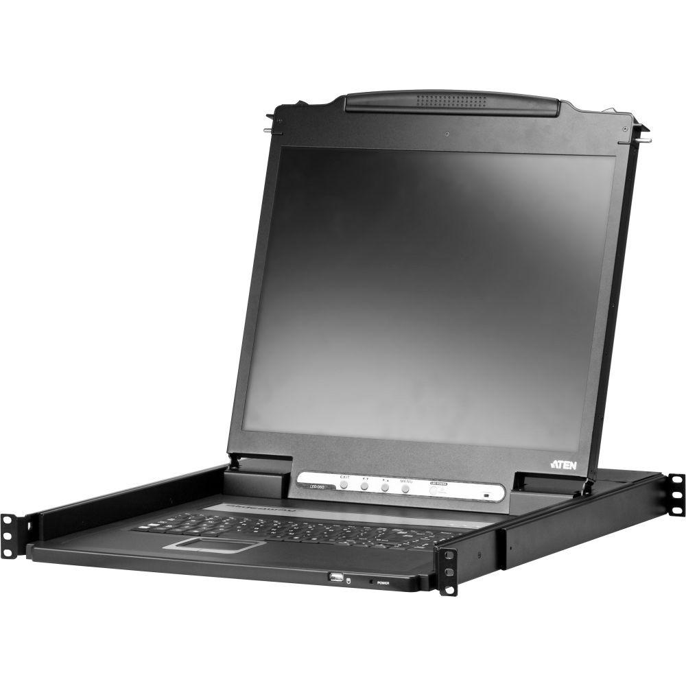 ATEN CL3000N Konsole mit 19''-Display, VGA, USB, PS/2, geringes Gewicht