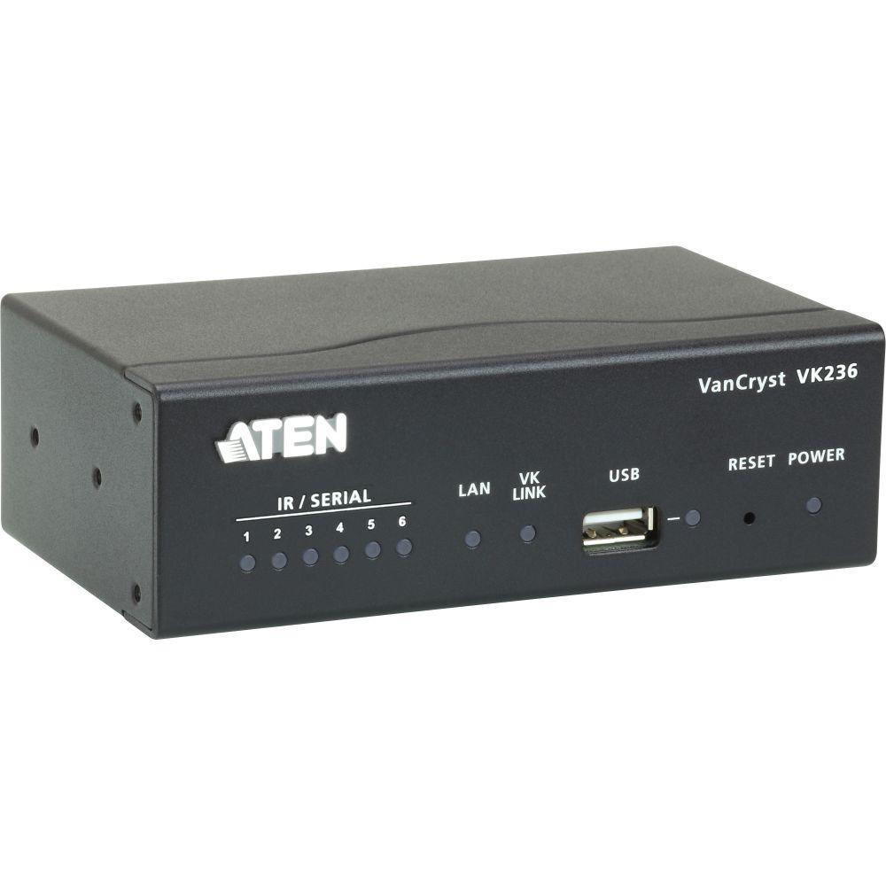 ATEN VK236 IR/serielle Erweiterungsbox 6-Port RS232 für Steuerungseinheit VK2100