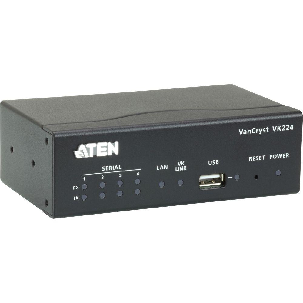 ATEN VK224 serielle Erweiterungsbox 4-Port RS232 für Steruerungseinheit VK2100
