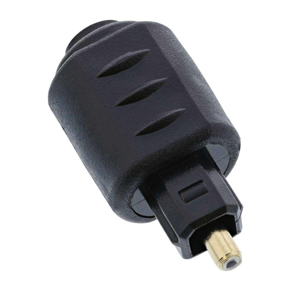 InLine® OPTO Audio Kupplung, 3,5mm Buchse / Toslink Stecker