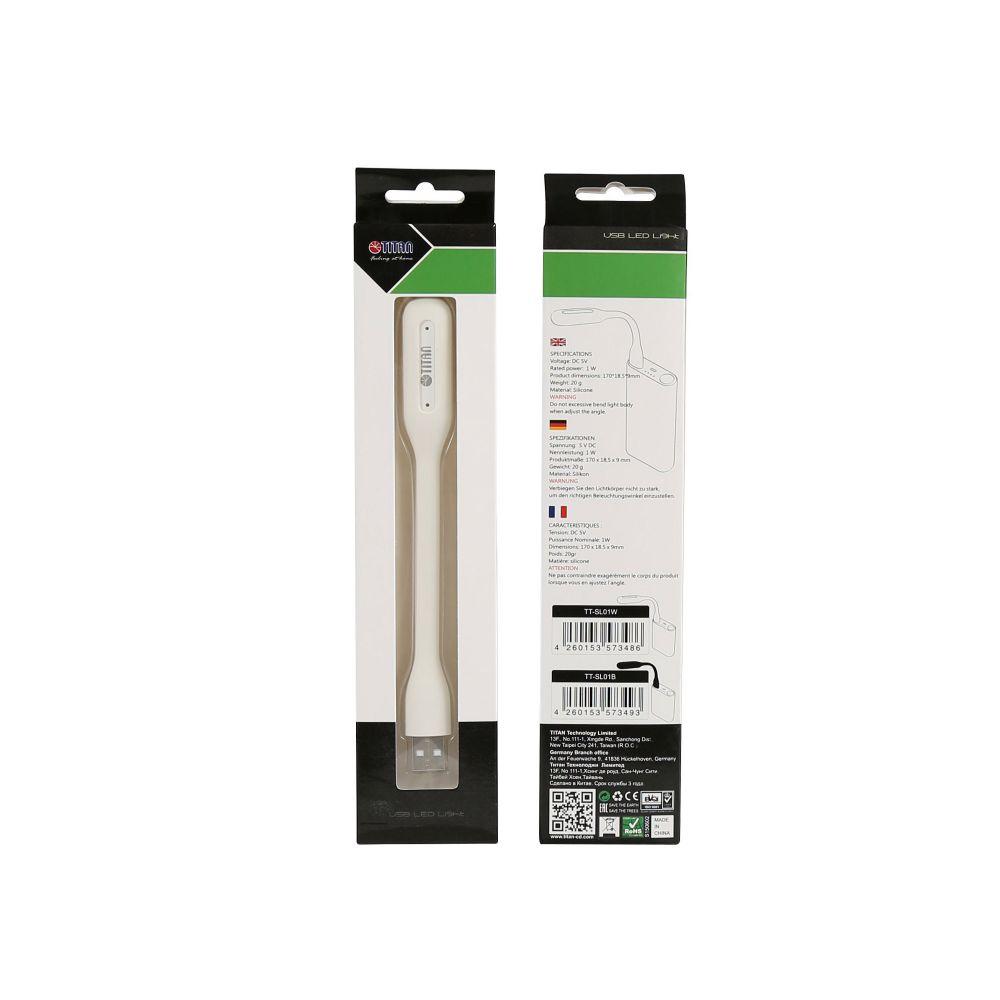Titan TTL-SL01W USB LED-Lampe