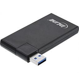 InLine® 180 Twist Hub USB 3.0, 4 Port, drehbar, schwarz