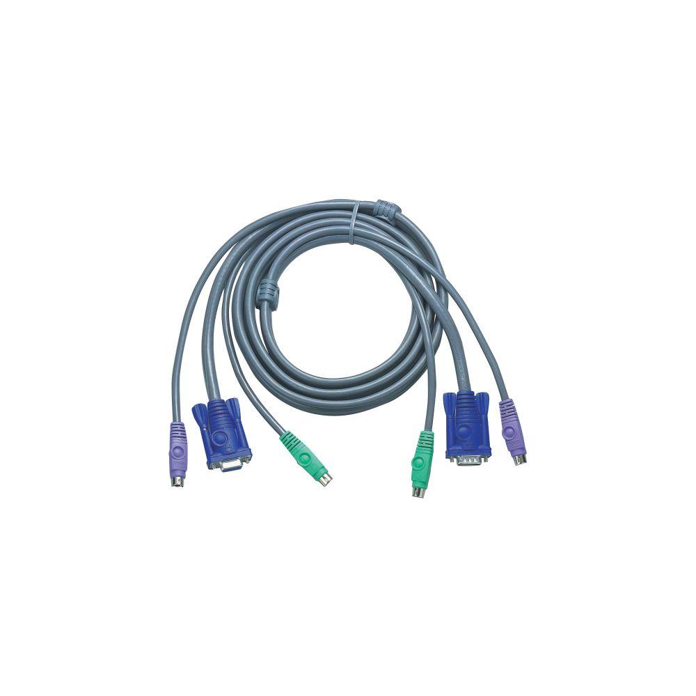 ATEN 2L-5003P/C KVM Kabelsatz, VGA, PS/2, Länge 3m