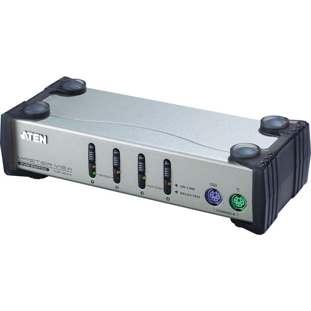 ATEN CS84A KVM-Switch 4-fach, PS/2