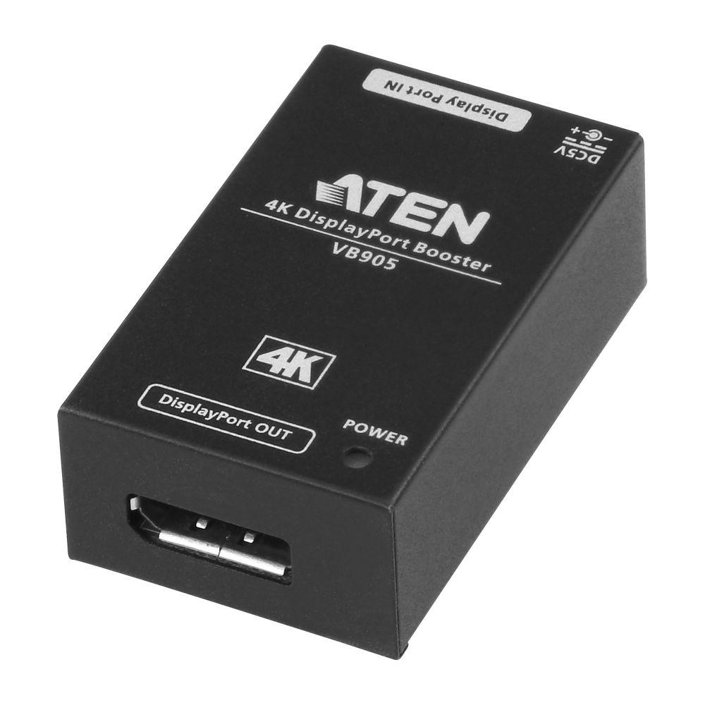 ATEN VB905 4K DisplayPort Booster, Signal-Verstärker um bis 5m, kaskadierbar