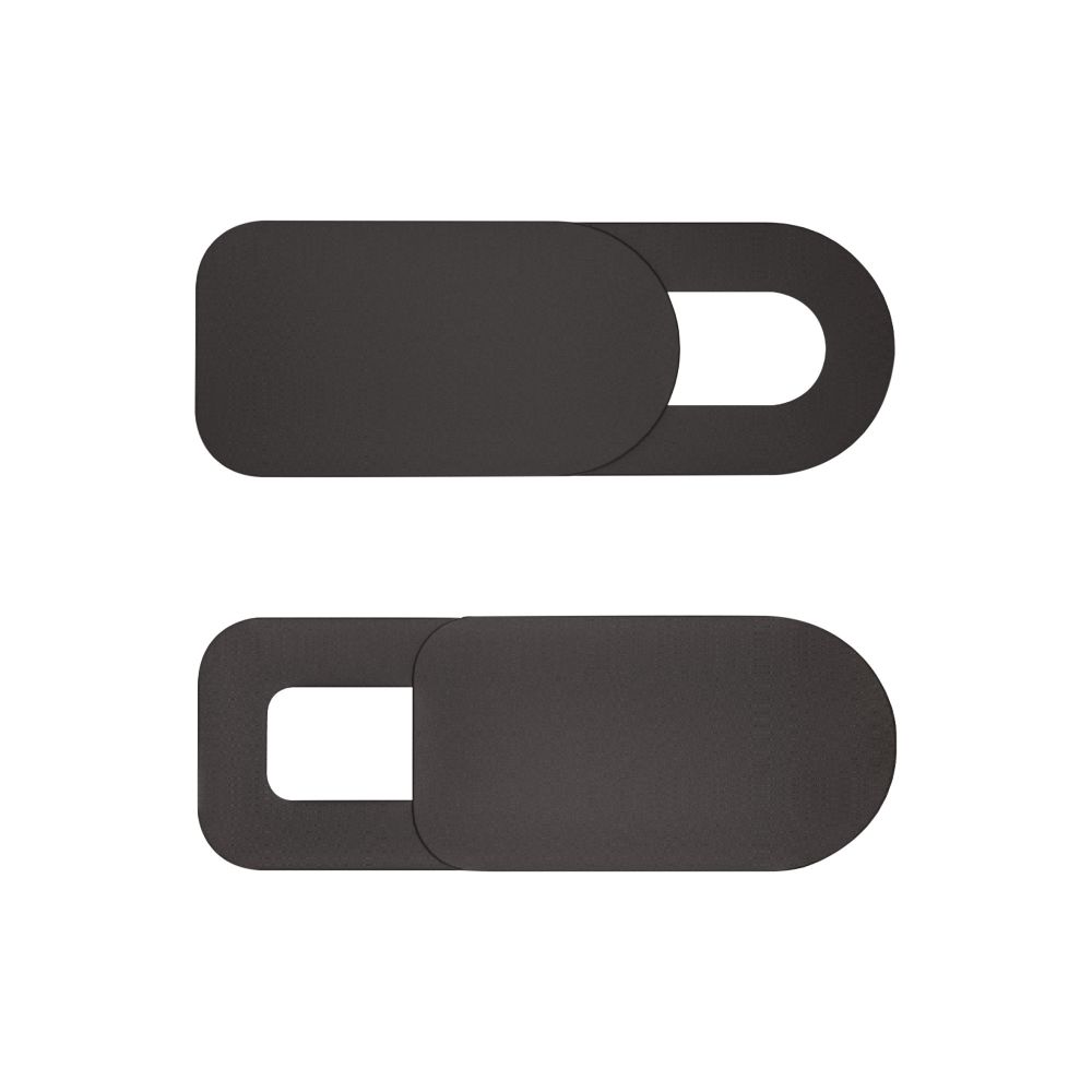 InLine® Webcam Slider Abdeckung, schwarz, 2er Pack