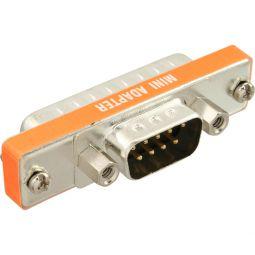InLine® AT-Adapter, 9pol Sub D Stecker an 25pol Sub D Stecker, kurz