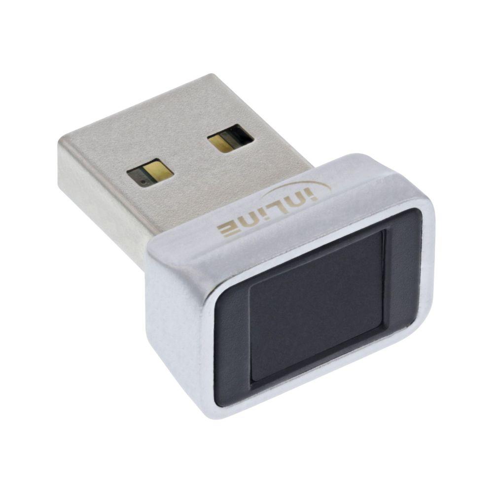 InLine® USB Fingerabdruck Scanner, Windows Hello kompatibel