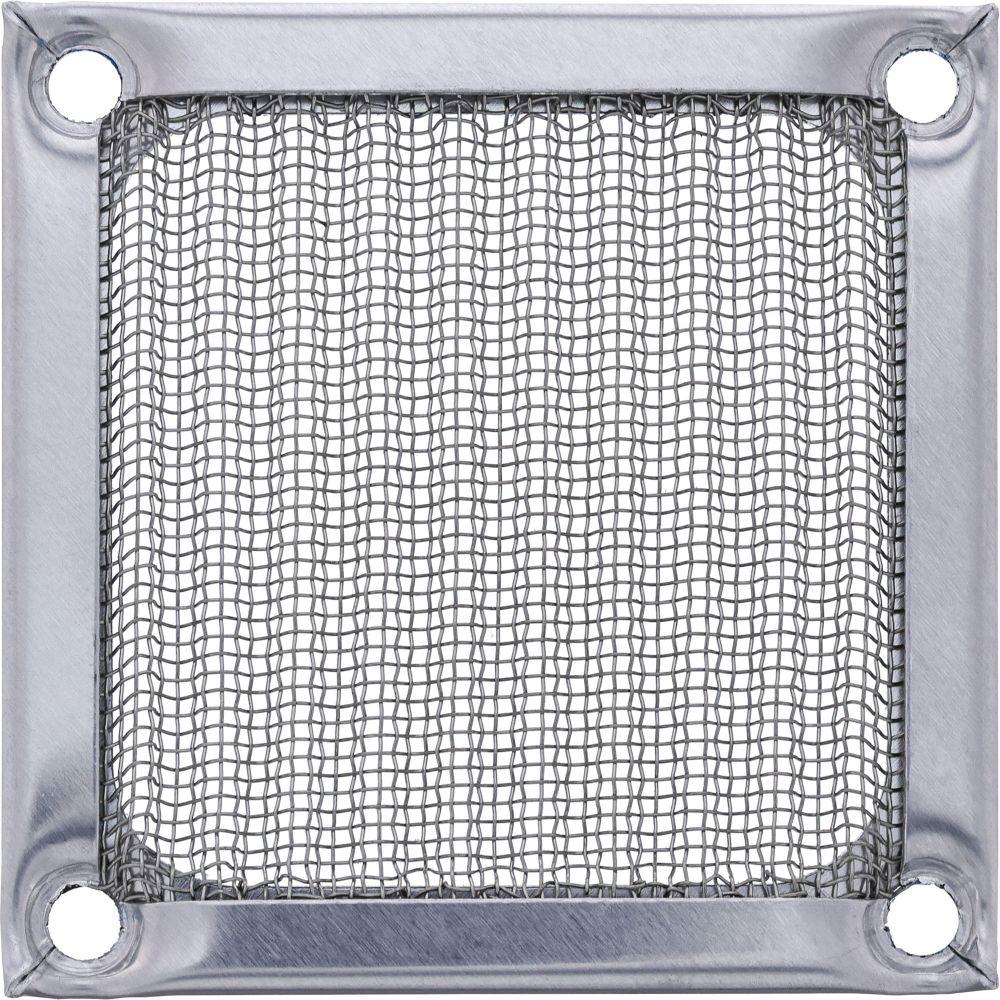 InLine® Lüftergitter, Aluminium Filter, 60x60mm