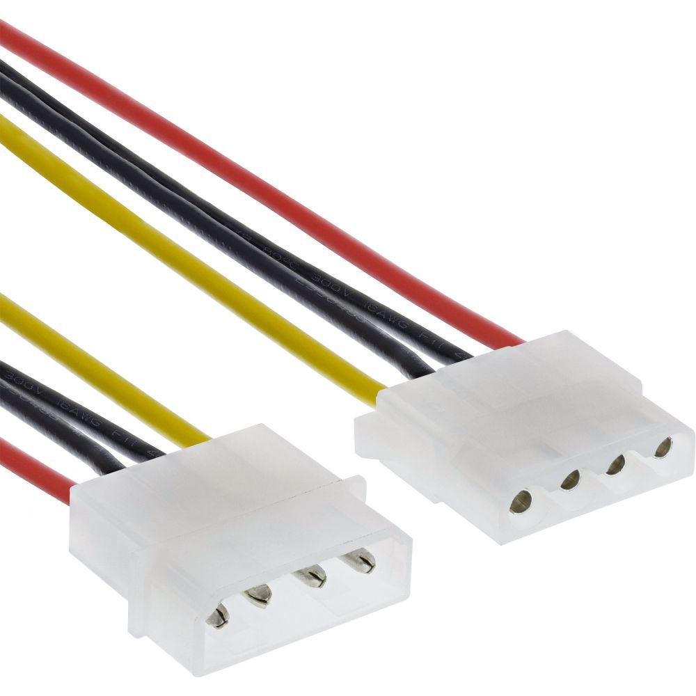 InLine® Strom Verlängerung intern, 13,34cm (5,25