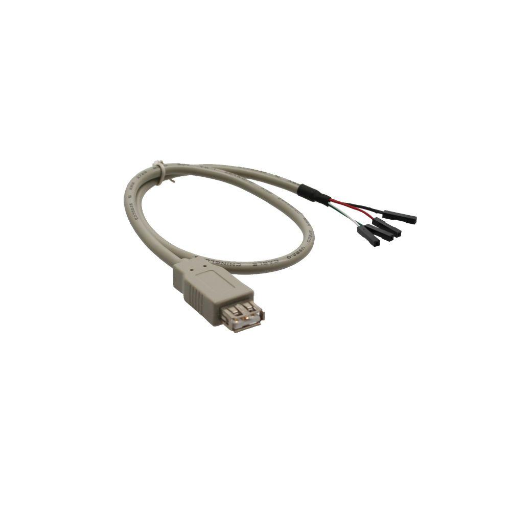 InLine® USB 2.0 Adapterkabel, Buchse A auf Pfostenanschluss, 0,4m