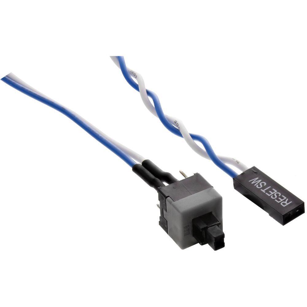 InLine® Strom Reset-Taster, mit Kabel, 0,3m