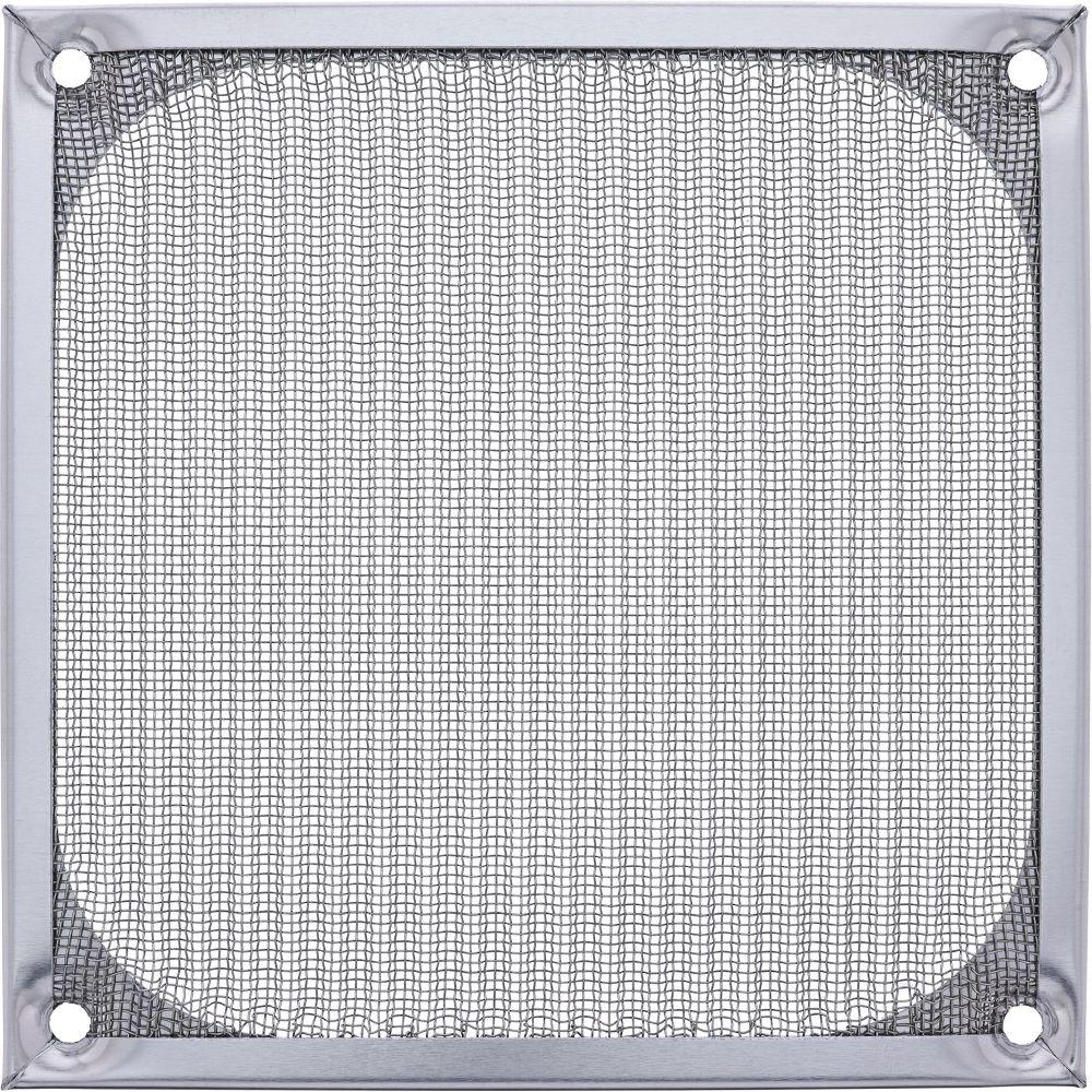 InLine® Lüftergitter, Aluminium Filter, 120x120mm