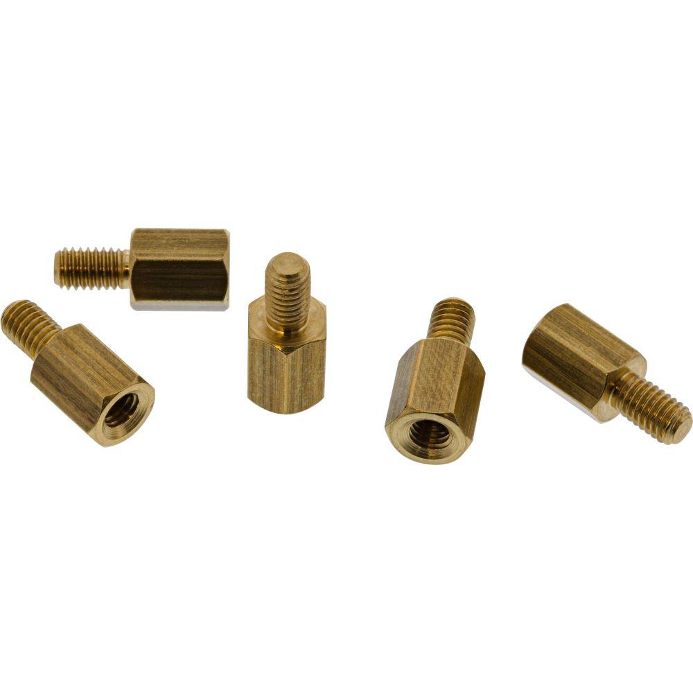 InLine® Abstandshalter Schraubenset, für Mainboards, metrisch, 50-teilig