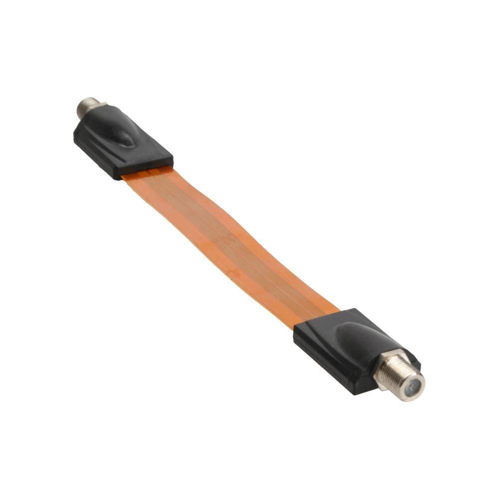 InLine® SAT Kabel Fensterdurchführung für F-Stecker