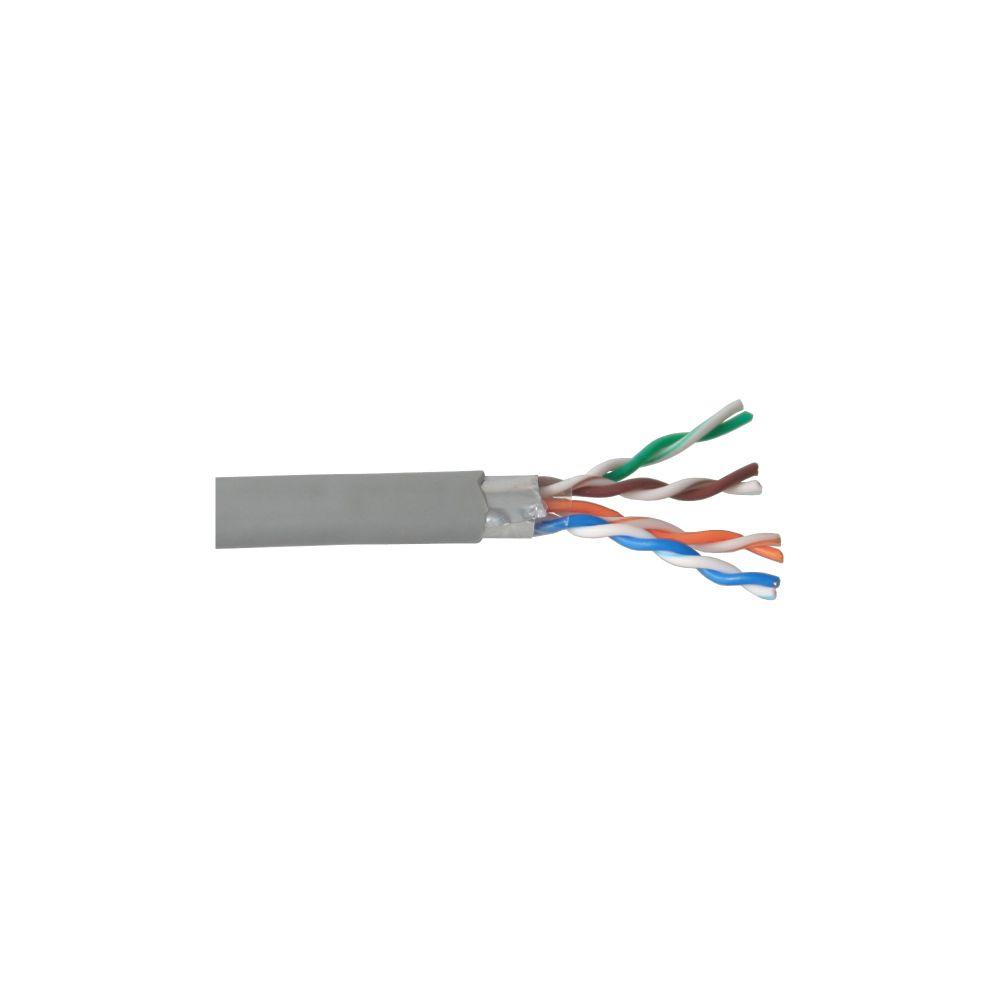 InLine® Verlegekabel, F/UTP, Cat.5e, AWG24 CCA, PVC, 300m