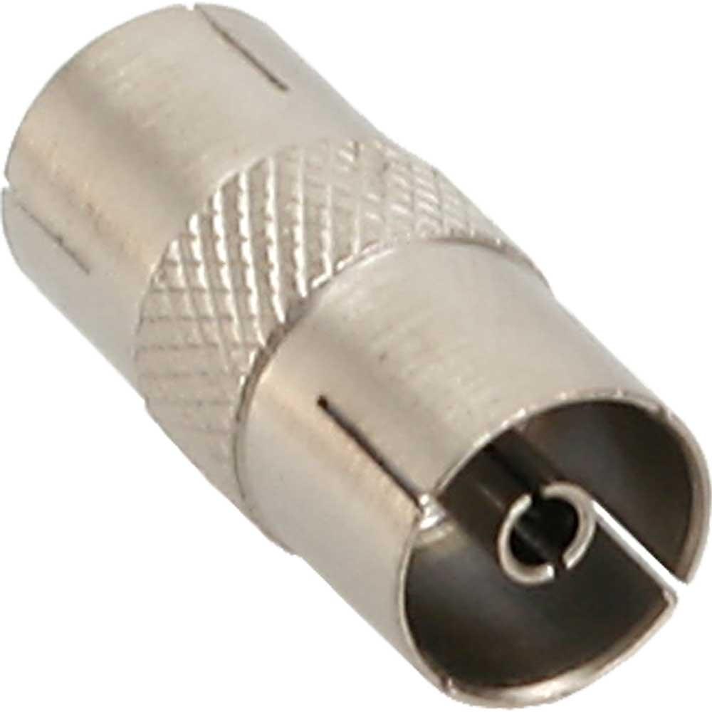 InLine® Antenne Koaxial Verbinder Stecker / Buchse, Metall