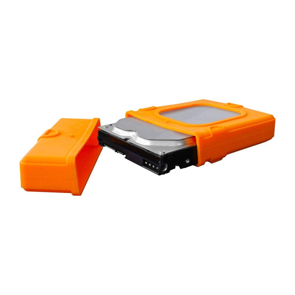 FANTEC Schutzhülle für 3,5'' Festplatten, orange