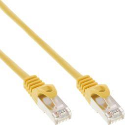 InLine® Patchkabel, U/UTP, Cat.5e, gelb, 7,5m