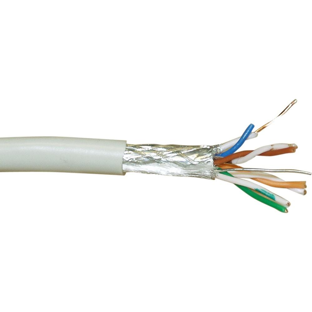 InLine® Verlegekabel, SF/UTP, Cat.5e, AWG24 CCA, halogenfrei, 300m