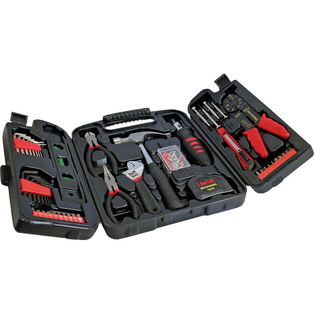 InLine® Heimwerker Werkzeug-Set, 129-teilig