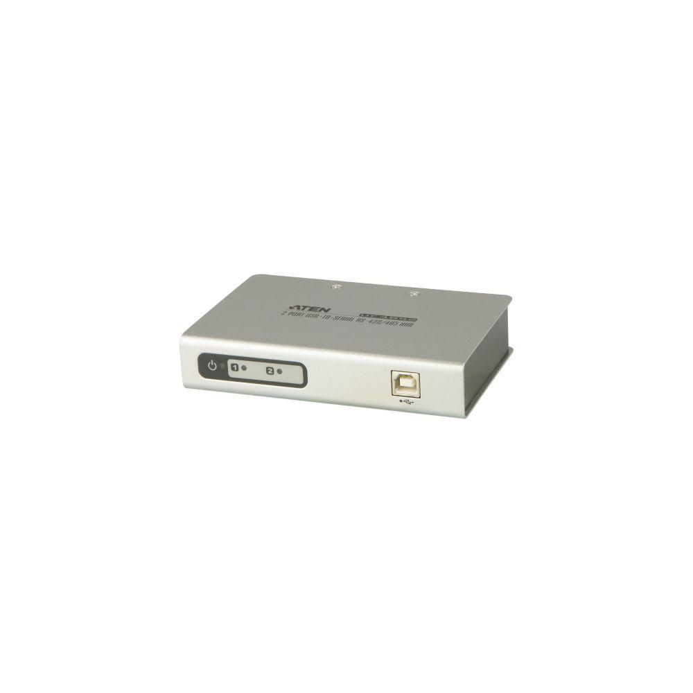 ATEN UC4852 Konverter USB zu 2x Seriell RS422/485 9pol Sub D