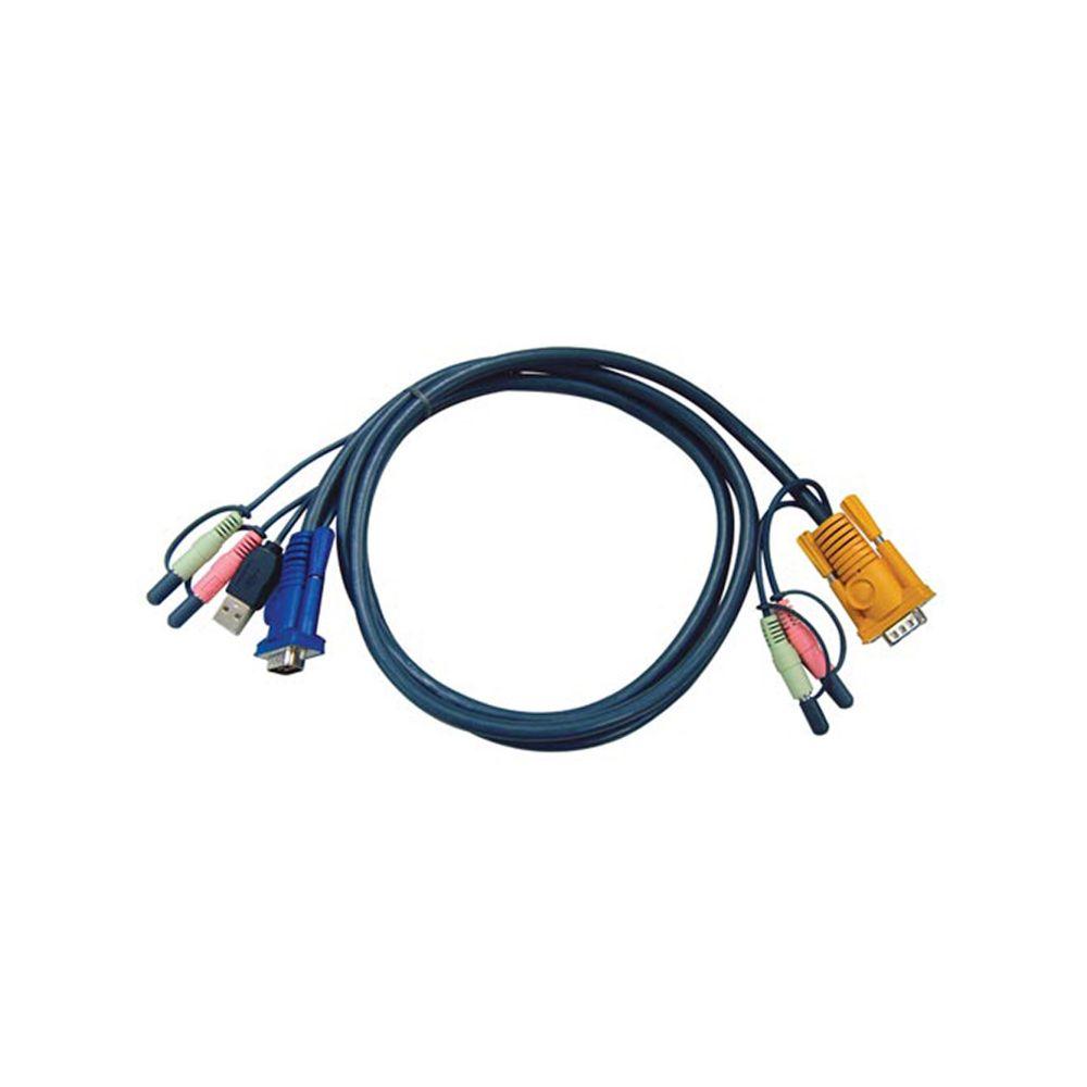 ATEN 2L-5305U KVM Kabelsatz, VGA, USB, Länge 5m