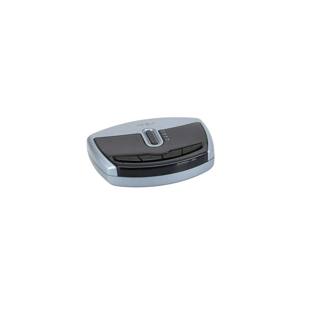 ATEN US421A USB 2.0 Data Switch, 1 USB-Gerät an 4 PC, elektronisch
