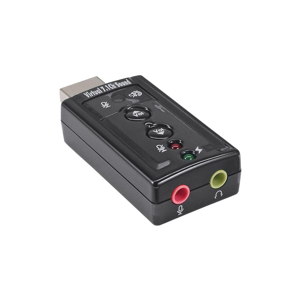 InLine® USB Audio Soundkarte, mit virtuellem 7.1 Surround Sound