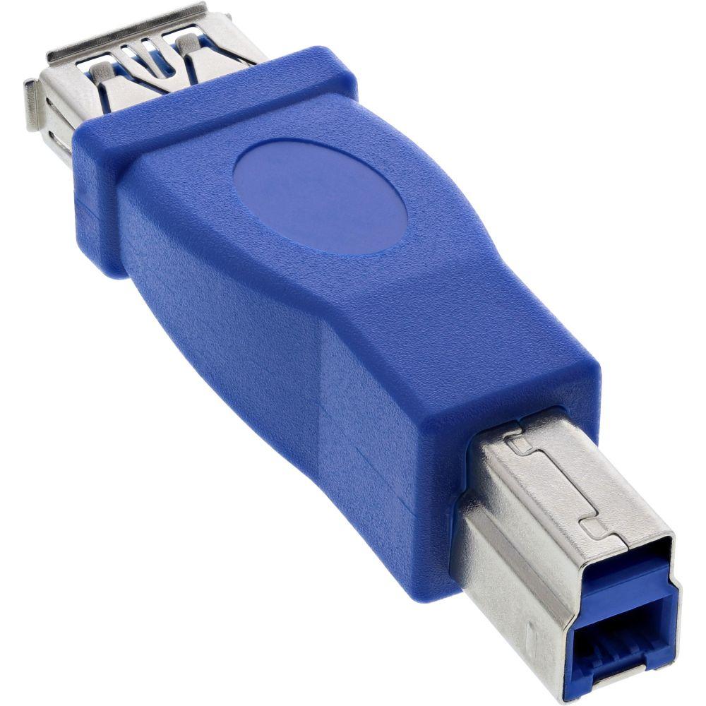InLine® USB 3.0 Adapter, Buchse A auf Stecker B