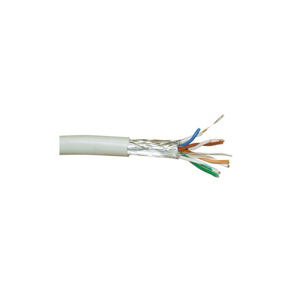 InLine® Verlegekabel, SF/UTP, Cat.5e, AWG24 CCA, halogenfrei, 100m