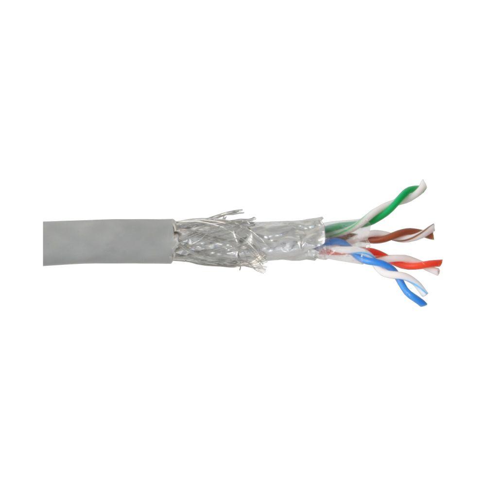 InLine® Verlegekabel, SF/UTP, Cat.5e, AWG24 CCA, PVC, 100m