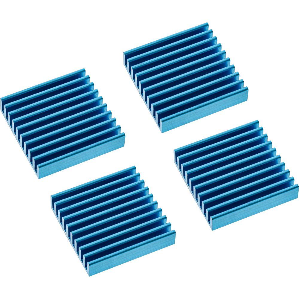InLine® RAM-Kühler selbstklebende Kühlrippen, 4 Stück