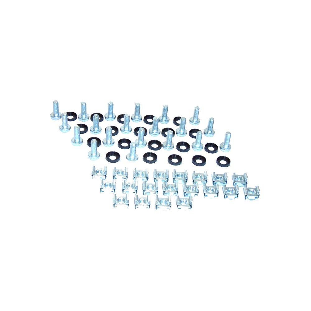 Triton RAX-MO-X09-X1 Käfigmutternset, je 20x Käfigmuttern, Scheiben, Schrauben