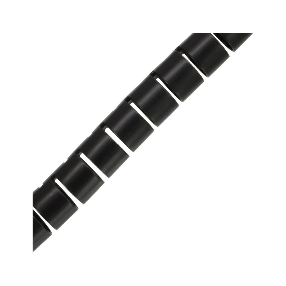 InLine® flexibeler Kabelkanal/Kabelschlauch 10m, schwarz, 28mm