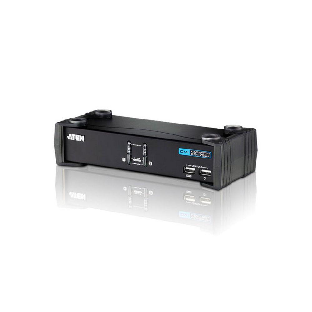 ATEN CS1762A CubiQ KVMP-Switch,2-fach, DVI, USB, Audio