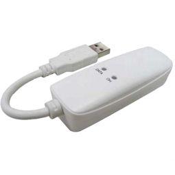 Longshine LCS-8156C1, 56K Fax Modem, extern, USB, V.92