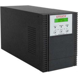 EFFEKTA USV MKD XL 700 VA, Online-Dauerwandler, 40 min., Tower, schwarz