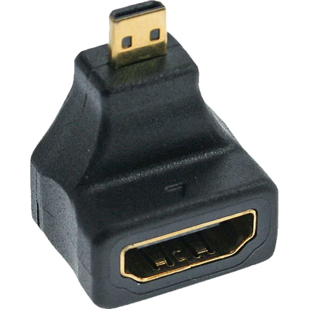 Links Gewinkelt HDMI Typ A Stecker auf HDMI Buchse Winkel Adapter