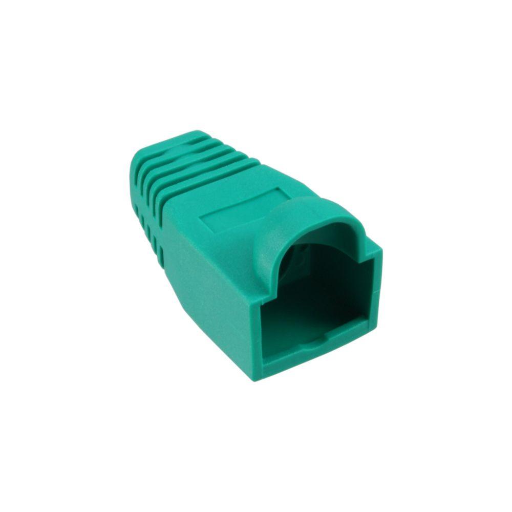 InLine® RJ45 Knickschutztülle, grün, 10er Pack