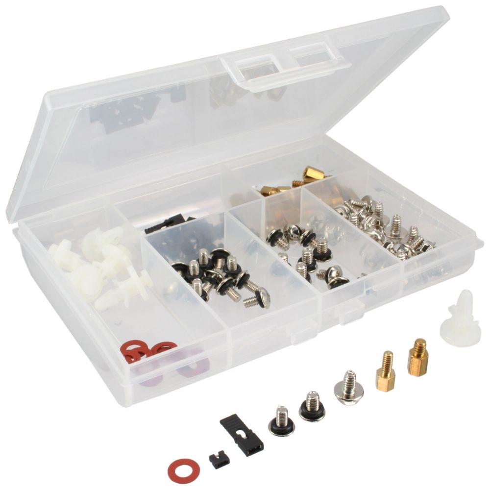 InLine® PC-Schraubenset, 96-teilig, für PC-Montage