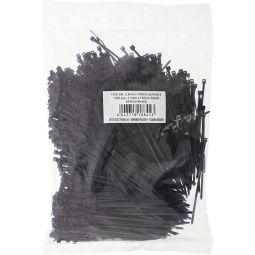 InLine® Kabelbinder, Länge 100mm, Breite 2,5mm, schwarz, 1000 Stück, bulk
